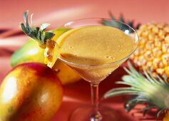 King Creole: Smoothie with exotic fruit and rum