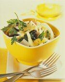 Insalata di finocchi ed arance (raw fennel salad with oranges)