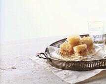 Kadayif (shredded pastry dessert, Turkey)