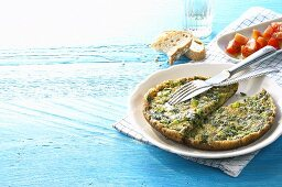 Vegetable and herb omelette (Greece)