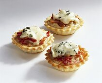 Cheese and bacon tartlets