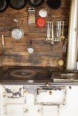 A kitchen in an Alpine chalet