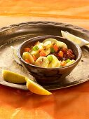 Potatoes with carrots and celery (North Africa)