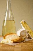 Soft cheeses and white wine