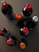 A variety of wine bottles (cropped)