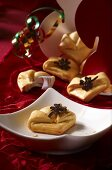Fortune cookies for New Year's Eve