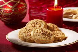 Pecan biscuits for Christmas