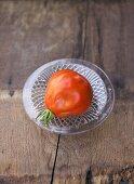 A Ligurian beefsteak tomato