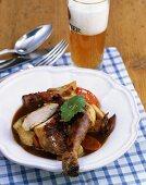 Chicken in beer sauce