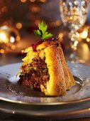 Duck charlotte (Christmas appetiser)