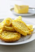 Steamed corn bread, South Africa