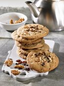Chilli and walnut cookies