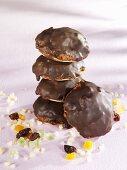Chocolate-coated Elisen gingerbread