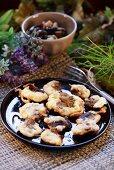 Mushroom fritters