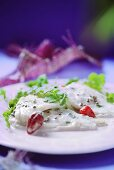 Steamed fish with chillies