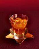 Tangerine fruit punch