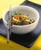 Beef with vegetables (Vietnam)