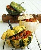 Chili con pumpkin (spicy pumpkin ragout)