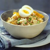 Kedgeree (Anglo-Indian rice dish with fish)
