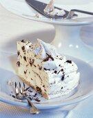 Grillage cake (Semi-frozen meringue cake, Lower Rhine, Germany)