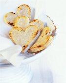Marzipan hearts