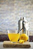 Crazy Fruit (rum and lemon cocktail)