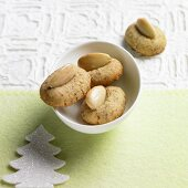 Almond biscuits for Christmas