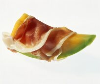 Wedge of melon with Parma ham