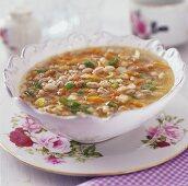Pearl barley soup