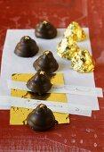 Home-made chocolates for Christmas