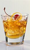Rusty Nail (Cocktail made with Scotch and Drambuie)