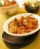 Pork curry with pineapple
