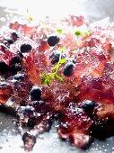 Berries in aspic