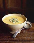 Fasanen-Kastanien-Suppe