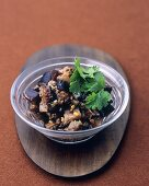 Sweet and sour aubergine relish