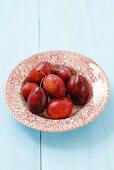 A plate of cacanska rana plums