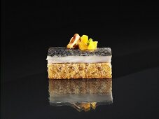 Green herring with mirabelles and hazelnut oil