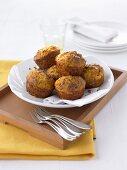 Savoury pumpkin muffins