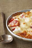 Cauliflower and tomato bake