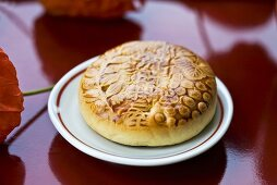 Japanese bean paste pie