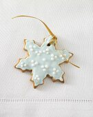 Gingerbread star with hanger