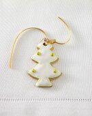 Gingerbread Christmas tree with hanger