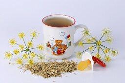 Fennel tea for children