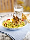 Kedgeree (Rice and fish dish, UK)
