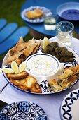 Greek appetisers