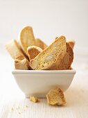 A bowl of cantuccini