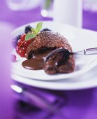 Molten chocolate pudding