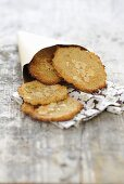 Quinoa and almond biscuits