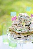 Polarbröd sandwiches