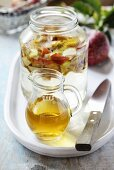 Homemade apple vinegar